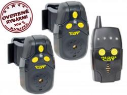 Black Cat Bite Alarm Set, 2 x signlizátor + príposluch