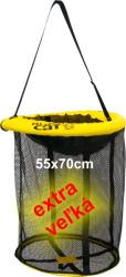 Prechovávacia sieť Black Cat, pr. 50cm, dĺ. 70cm