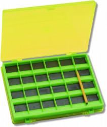 Krabica na háčiky, magnetická, 14,5x11,5x2 cm