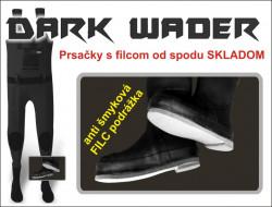 Zebco čižmy prsačky Dark Wader Felt Sole,f. sivo-čierna