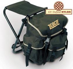 stolička s ruksakom zebco folding