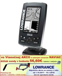 Lowrance MARK-4 CHIRP s GPS 4 lúčový sonar