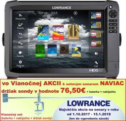 Lowrance HDS 12 Gen3 dotykový sonar