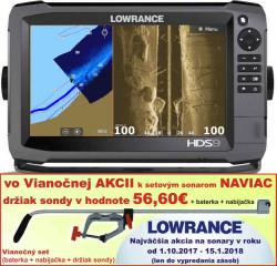 Lowrance HDS 9 Gen3 dotykový sonar bez sondy
