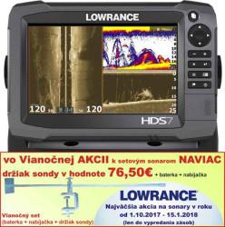Lowrance HDS 7 Gen3 dotykový sonar bez sondy