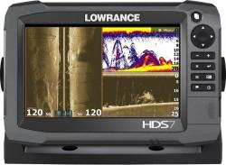 Lowrance HDS 7 Gen3 dotykový sonar na more+sonda 2D
