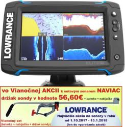 Lowrance Elite-7 Ti sonar Chirp/DSI