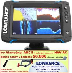 Lowrance Elite-7 Ti sonar TotalScan sondou