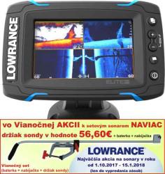 Lowrance Elite-5 Ti sonar Chirp/DSI