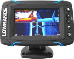 Lowrance Elite-5 Ti sonar TotalScan sondou