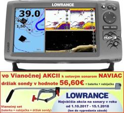 Lowrance Hook-9 sonar Chirp/DSI + GPS