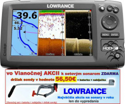 Lowrance Hook-7 sonar Chirp/DSI + GPS