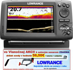 Lowrance Hook-7X sonar Chirp/DSI