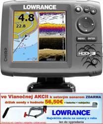 Lowrance Hook-5 sonar Chirp/DSI + GPS