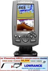 Lowrance Hook-4 sonar Chirp/DSI + GPS