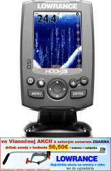Lowrance Hook-3X DSI sonar so sondou DSI