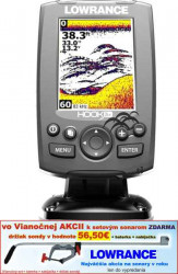 Lowrance Hook-3X sonar, 83/200 EMEA Language Pack