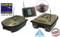 Zavážacia loďka Prisma 5 s GPS + sonarom