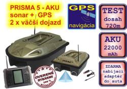 SET Prisma 5 Aku 22000mAh - 2x taká výdrž + sonar+ GPS
