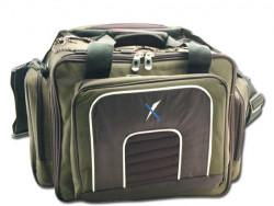 Taška Lux + 6ks krabíc na nástrahy, 45x28x34cm