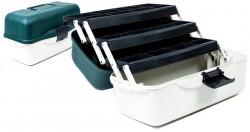Kufrík rybársky - 3 zásobníky