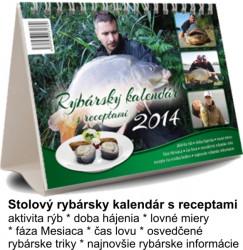 Kalendár pre rybárov s receptami na rok 2014
