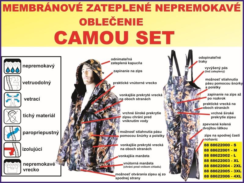 Akcia ! Set špeciálneho rybárskeho oblečenia bunda + nohavice ... 724ff42b6a3