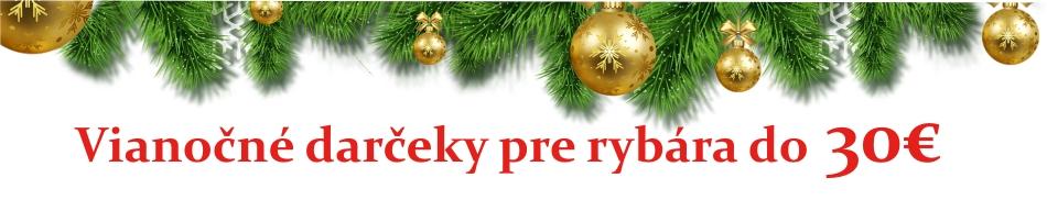 vianočné darčeky pre rybára do 30€