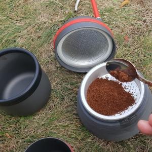 kávovar pre rybára