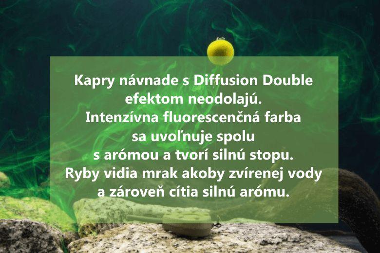 kapry návnade s diffusion double effect neodolajú