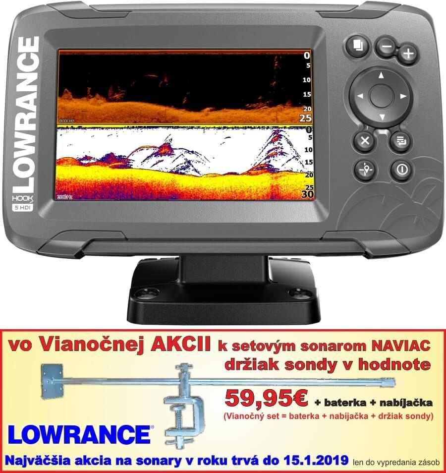 Sonary LOWRANCE HOOK2-5 HDI Combo SplitShot