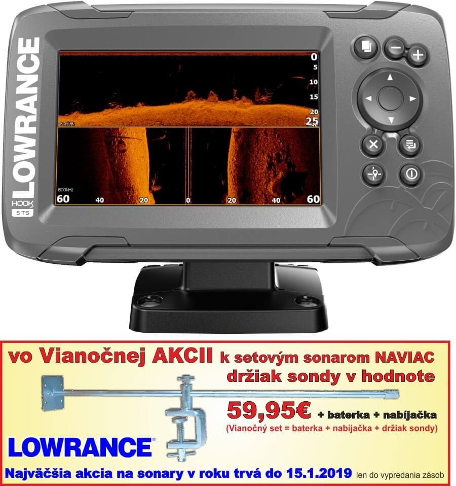 LOWRANCE HOOK2-5 TS Combo TripleShot