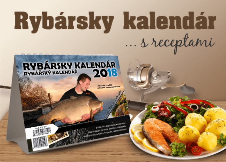 rybársky kalendár s receptami