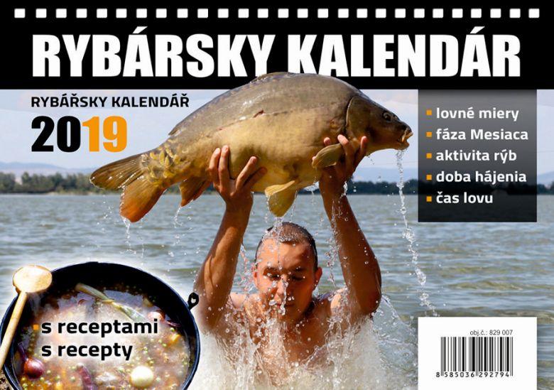 rybársky kalendár 2019