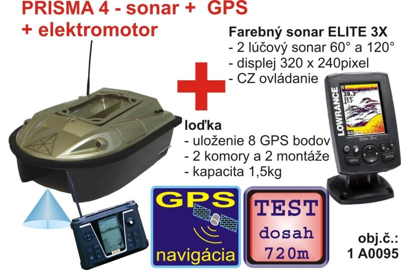 3316fd80a Akcia – PRISMA so sonarom a GPS + sonar Elite 3X - Zavážacie loďky ...
