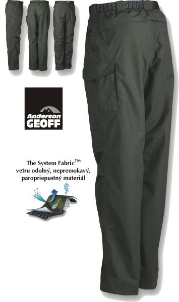 8a484bf45 Geoff Anderson nohavice, ZOON, f. zelená - Rybárske nepremokavé ...