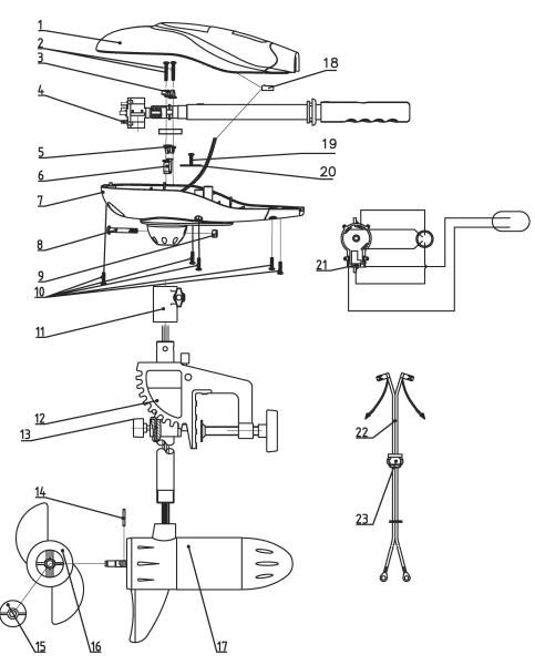 feb4f61fd520c Náhradné diely k motorom Rhino VX - Lodné motory príslušenstvo - Háčik