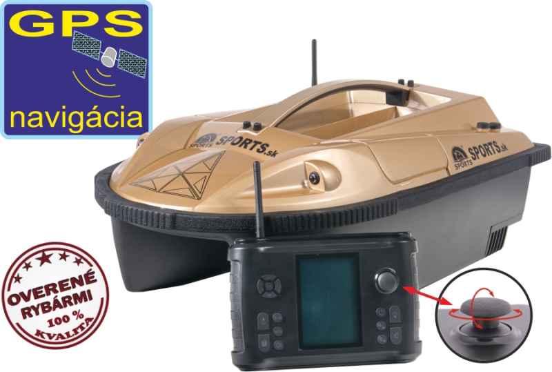 865218f67 Zavážacia loďka Prisma 5 gen3 + sonar + GPS - 11000mAh - Zavážacie ...