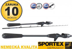 SPORTEX Mastergrade Jigging - prút na more 1,9m