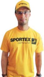 Tričko s krátkym rukávom Sportex T-Shirt - žlté