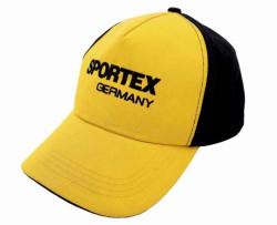 Rybárska šiltovka SPORTEX žlto-čierna
