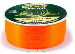 Rybársky silon CLIMAX Cult Carpline 600m - fluo oranž.