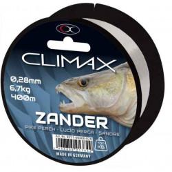 Silon bledošedý na zubáča, CLIMAX 400m/0,28mm