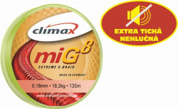 CLIMAX miG8 Braid Olive - šnúra 135m