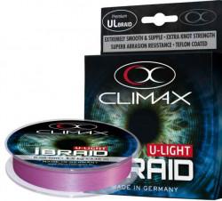 Rybárska šnúra Climax iBraid U-light 135m -fluo-fialová