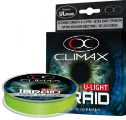 Rybárska šnúra Climax iBraid U-light 135m - fluo-zelená