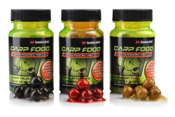 Chytacie boilies TB Carp Food Boosted Hookers 12mm/50g