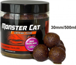 Monster Cat BIG Boilies sumcové, pr. 30mm, 500ml