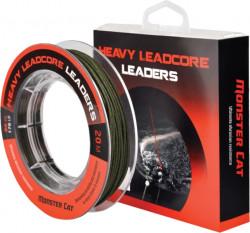 Heavy Leadcore Leaders sumcová šnúra, 80kg, 20m