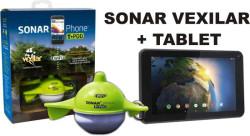 Nahadzovací sonar Vexilar + tablet 1024x600 bodov